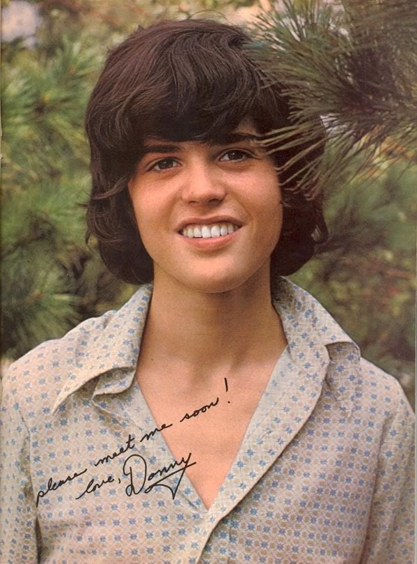 Donny Osmond Senseless Ramblings Of The Mindless