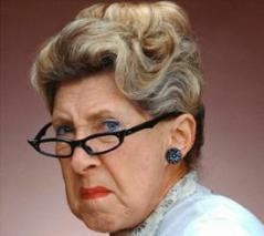 grumpy-woman
