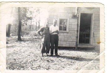Grandma and Grandpa Davis