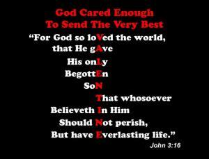 Valentine John 3 -16