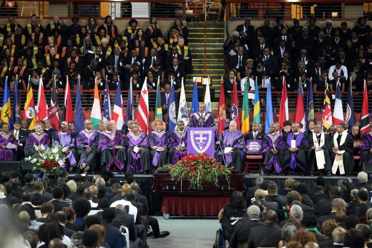 Funeral Of Rev. Clementa Pinckney