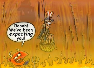 Hell in the Handbasket