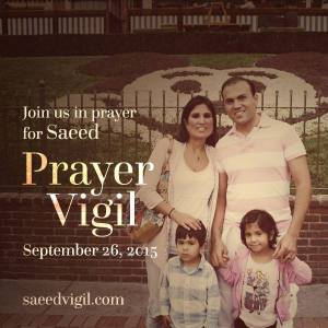 Pastor Saeed Prayer Vigil