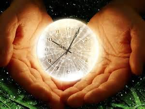 hands holding clock end times