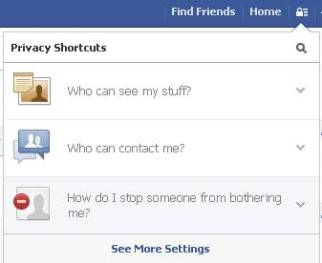 privacy shortcuts