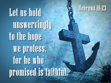 hebrews 10v23