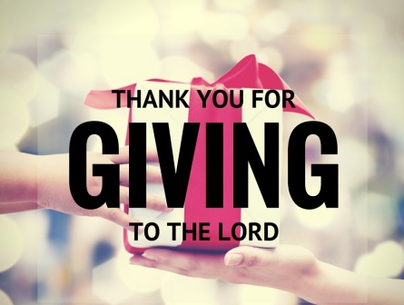 thank you forgiving to the Lord