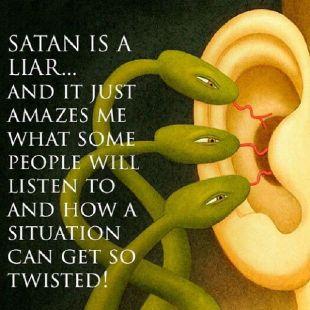 Satan a liar